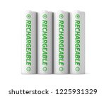 3d rendered four rechargeable... | Shutterstock . vector #1225931329