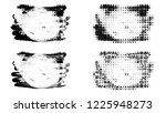 set of brush stroke and...   Shutterstock . vector #1225948273