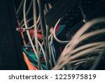 cabinet put dedicated server   Shutterstock . vector #1225975819