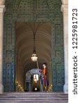 rome  vatican state   august 24 ...   Shutterstock . vector #1225981723