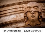 gothic detail. young woman...   Shutterstock . vector #1225984906