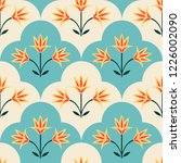 seamless pattern with... | Shutterstock .eps vector #1226002090