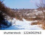 Rural Landscape In Northern...