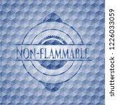 non flammable blue polygonal... | Shutterstock .eps vector #1226033059