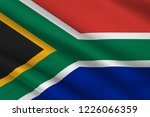 flag of republic of south... | Shutterstock . vector #1226066359