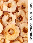 dried apple slices  chips ... | Shutterstock . vector #1226078986