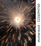 sparkle cracker celebration... | Shutterstock . vector #1226094760