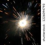 sparkle cracker celebration... | Shutterstock . vector #1226094793