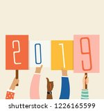 vector illustration. hands...   Shutterstock .eps vector #1226165599
