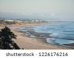 oregon coastline in newport...   Shutterstock . vector #1226176216