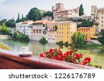vacations in italy. cup of... | Shutterstock . vector #1226176789
