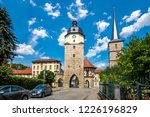 ried gate in arnstadt  th... | Shutterstock . vector #1226196829