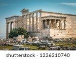 erechtheion temple with... | Shutterstock . vector #1226210740