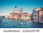 grand canal  venice  italy. it... | Shutterstock . vector #1226210749