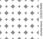 cross stitch  seamless...   Shutterstock .eps vector #1226215600