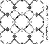 cross stitch  seamless...   Shutterstock .eps vector #1226215603