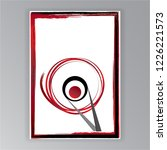 creative calligraphy japanese... | Shutterstock .eps vector #1226221573