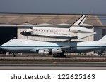 los angeles   sept 21  space... | Shutterstock . vector #122625163
