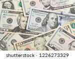full frame image with u.s.... | Shutterstock . vector #1226273329