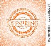 offspring orange tile... | Shutterstock .eps vector #1226282239