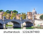 rome  italy   09 25 18  the... | Shutterstock . vector #1226287483