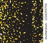 confetti of two colored rhombs... | Shutterstock .eps vector #1226293753