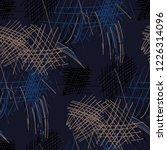 various hatches. seamless...   Shutterstock .eps vector #1226314096