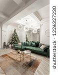 christmas evening. classic...   Shutterstock . vector #1226327230