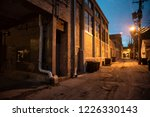 dark and scary downtown urban...   Shutterstock . vector #1226330143