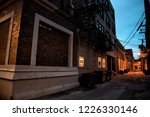 dark and scary downtown urban...   Shutterstock . vector #1226330146
