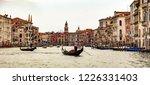 italy beauty  gondolas near to... | Shutterstock . vector #1226331403