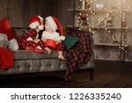two small cute children in...   Shutterstock . vector #1226335240
