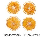 Four Dried Slices Of Orange...