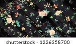 wide vintage seamless...   Shutterstock . vector #1226358700