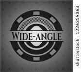 wide angle black emblem.... | Shutterstock .eps vector #1226359363