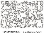 hand drawn vector illustrations ... | Shutterstock .eps vector #1226386720