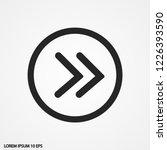 arrow vector icon 10 eps