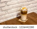ice caramel macchiato in the... | Shutterstock . vector #1226442280