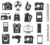 set of household appliances and ... | Shutterstock .eps vector #1226460220
