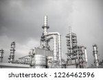 industrial zone the equipment... | Shutterstock . vector #1226462596