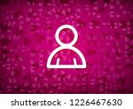 member icon isolated on pink... | Shutterstock . vector #1226467630