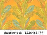 bananas exotic fruit trees... | Shutterstock .eps vector #1226468479