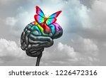 autistic brain and autism... | Shutterstock . vector #1226472316