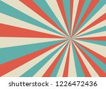 sunlight retro wide horizontal... | Shutterstock .eps vector #1226472436