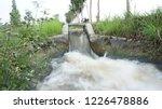 water flows in rural waterways | Shutterstock . vector #1226478886