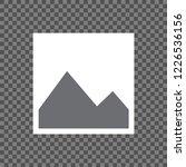 blank image placeholder... | Shutterstock .eps vector #1226536156
