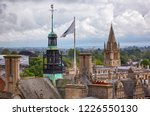 the tower of the oxford town... | Shutterstock . vector #1226550130