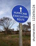 Hurricane Evacuation Route  ...