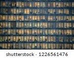 milan   nov 8  view of windows... | Shutterstock . vector #1226561476