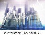 forex trading  financial market ... | Shutterstock . vector #1226588770